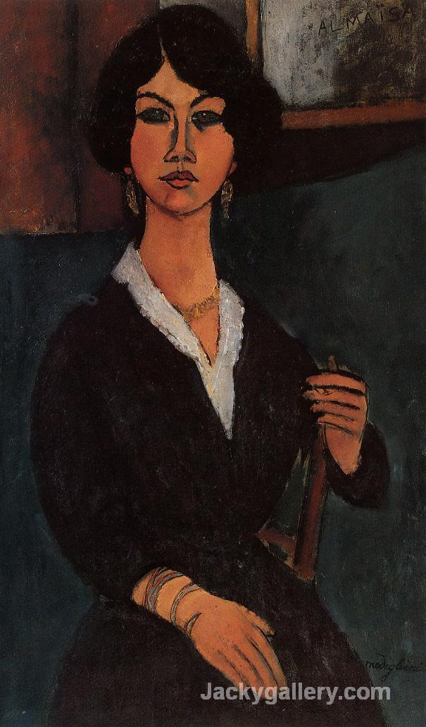 Almaisa by Amedeo Modigliani paintings reproduction