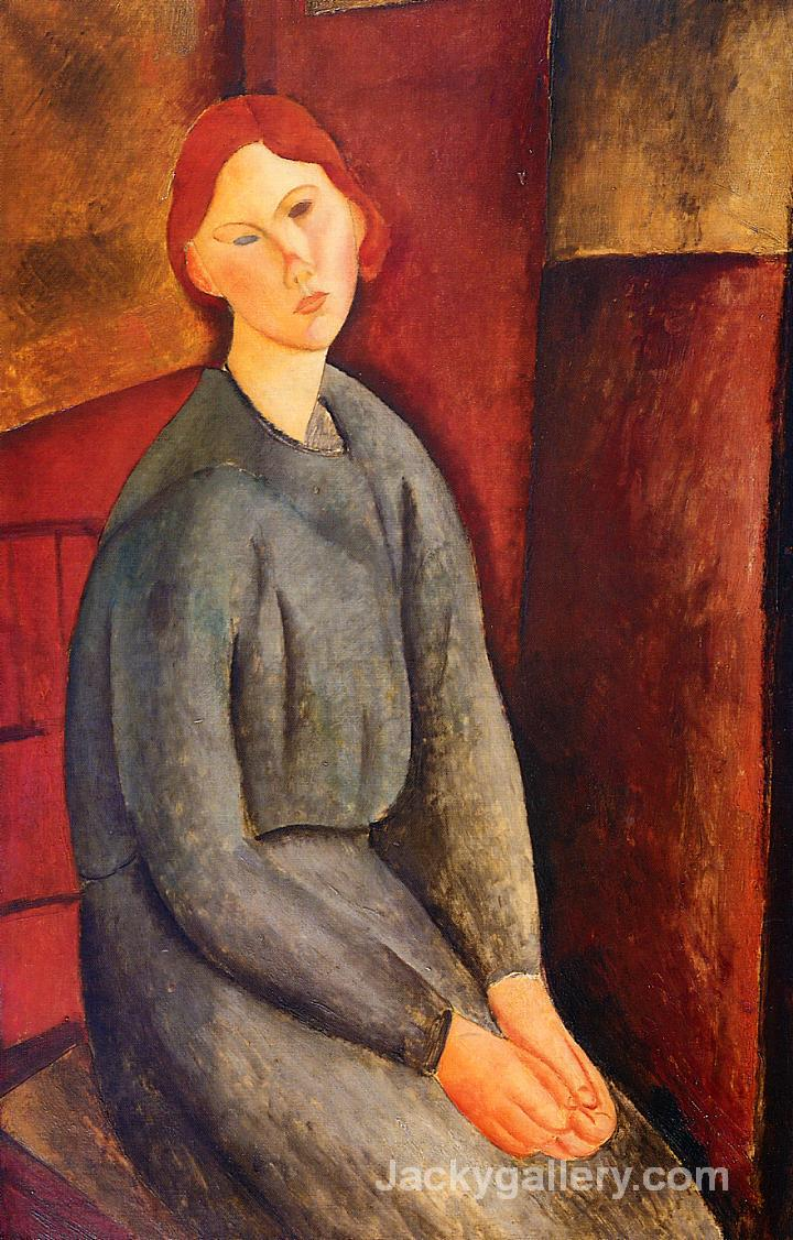Annie Bjarne by Amedeo Modigliani paintings reproduction