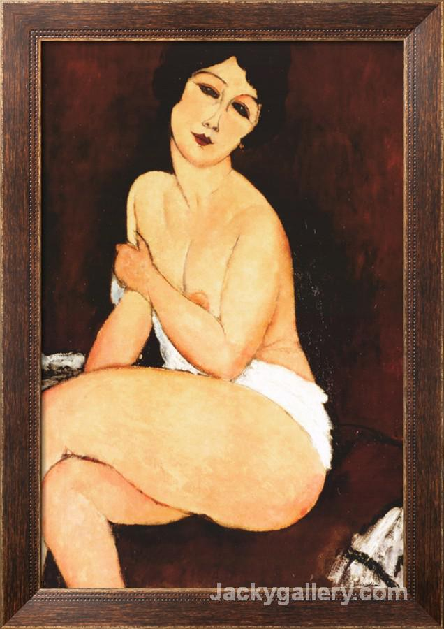 Beautiful Woman by Amedeo Modigliani paintings reproduction