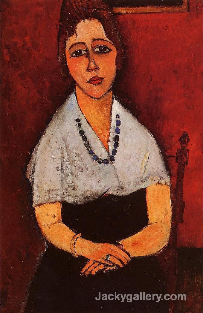 Elena Picard by Amedeo Modigliani paintings reproduction