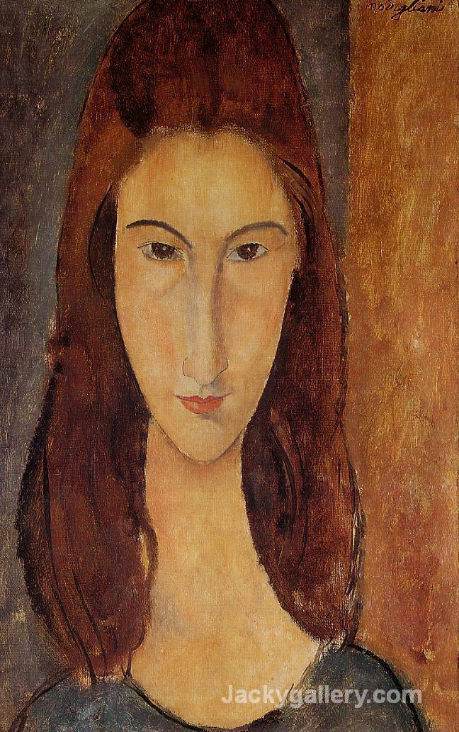 Jeanne Hebuterne II by Amedeo Modigliani paintings reproduction