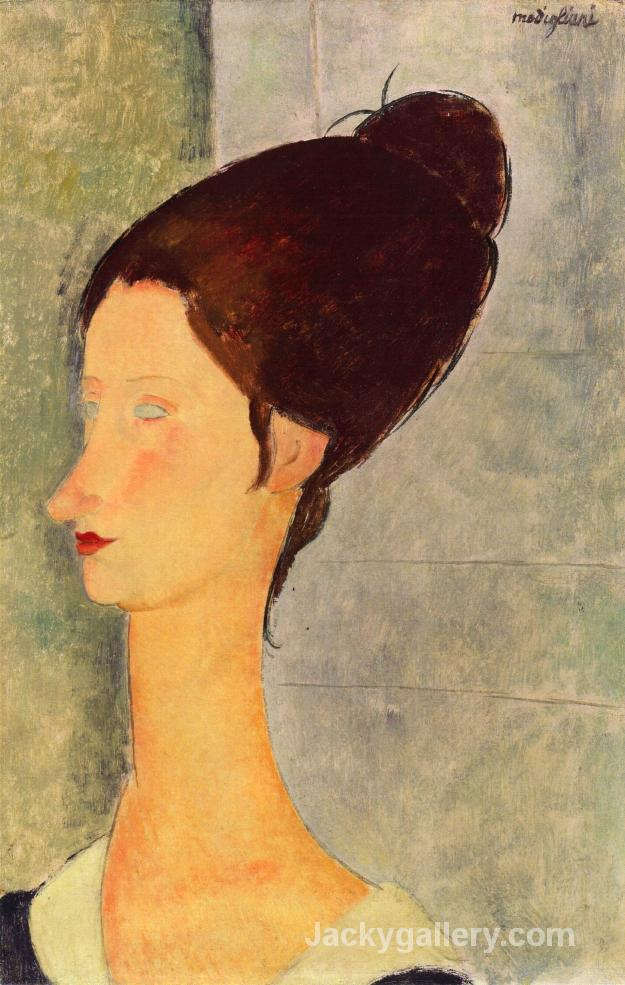 Jeanne Hebuterne III by Amedeo Modigliani paintings reproduction