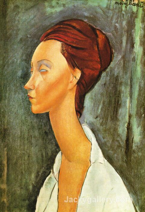 Lunia Czechovska by Amedeo Modigliani paintings reproduction