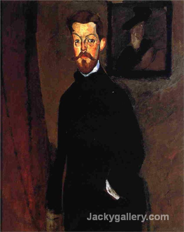 Portrait of Dr. Paul Alexandre by Amedeo Modigliani paintings reproduction