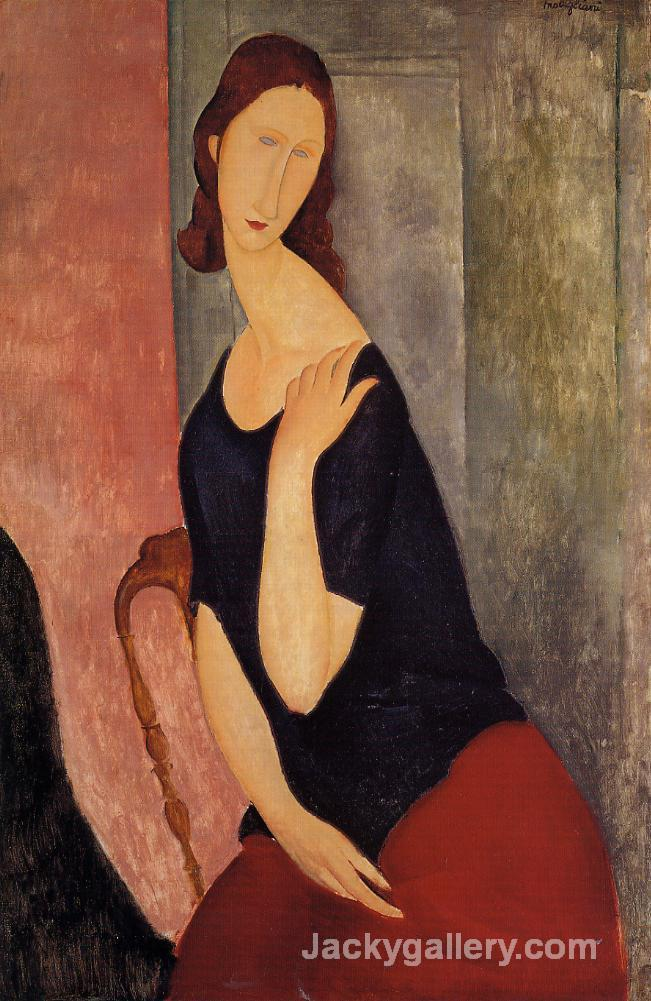 Portrait of Madame L by Amedeo Modigliani paintings reproduction