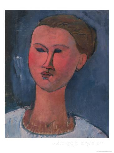 Portrait of a Young Woman by Amedeo Modigliani paintings reproduction