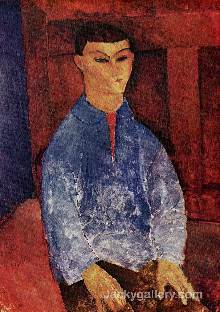 Portrait of the Painter Moise Kisling by Amedeo Modigliani paintings reproduction