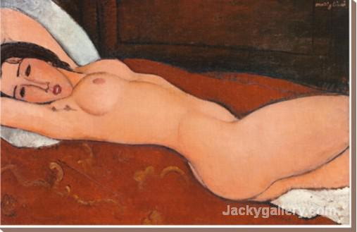 Reclining Nude II by Amedeo Modigliani paintings reproduction