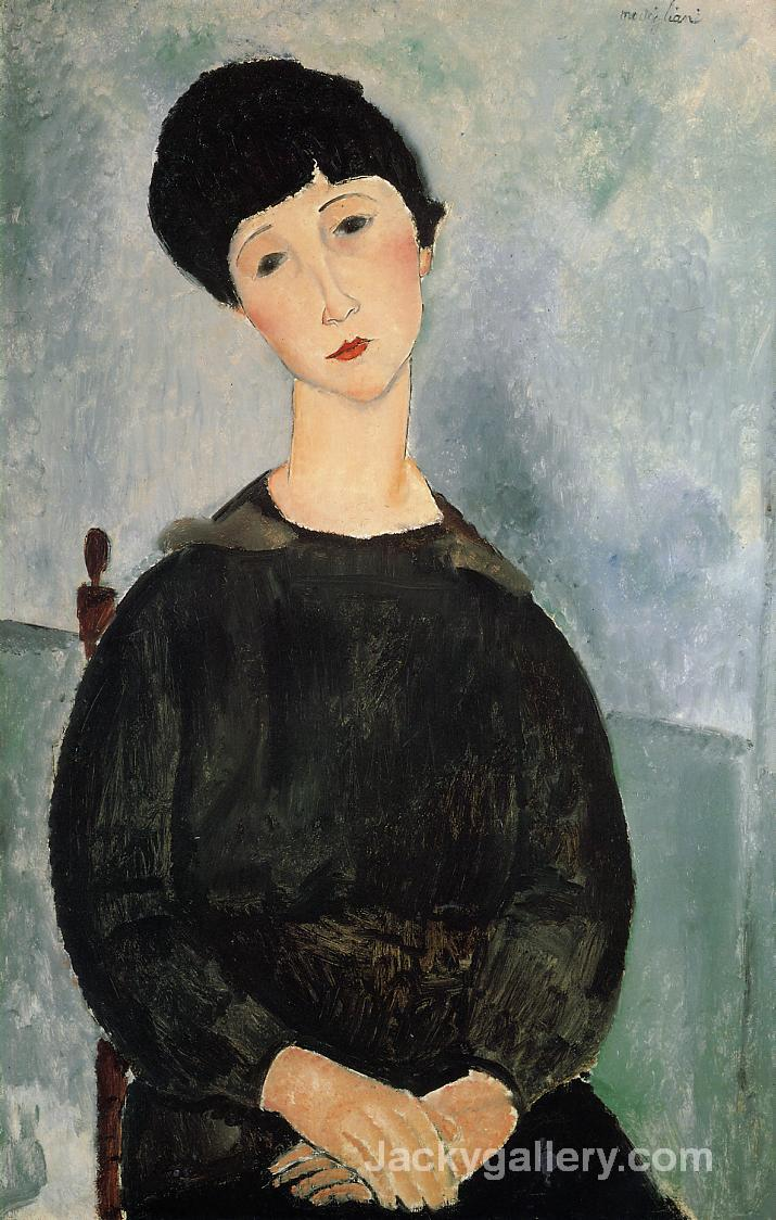 Seated Woman with Child by Amedeo Modigliani paintings reproduction