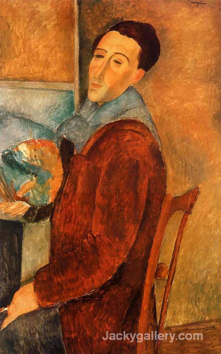 Self Portrait by Amedeo Modigliani paintings reproduction