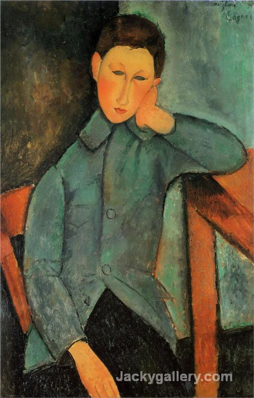 The Boy by Amedeo Modigliani paintings reproduction