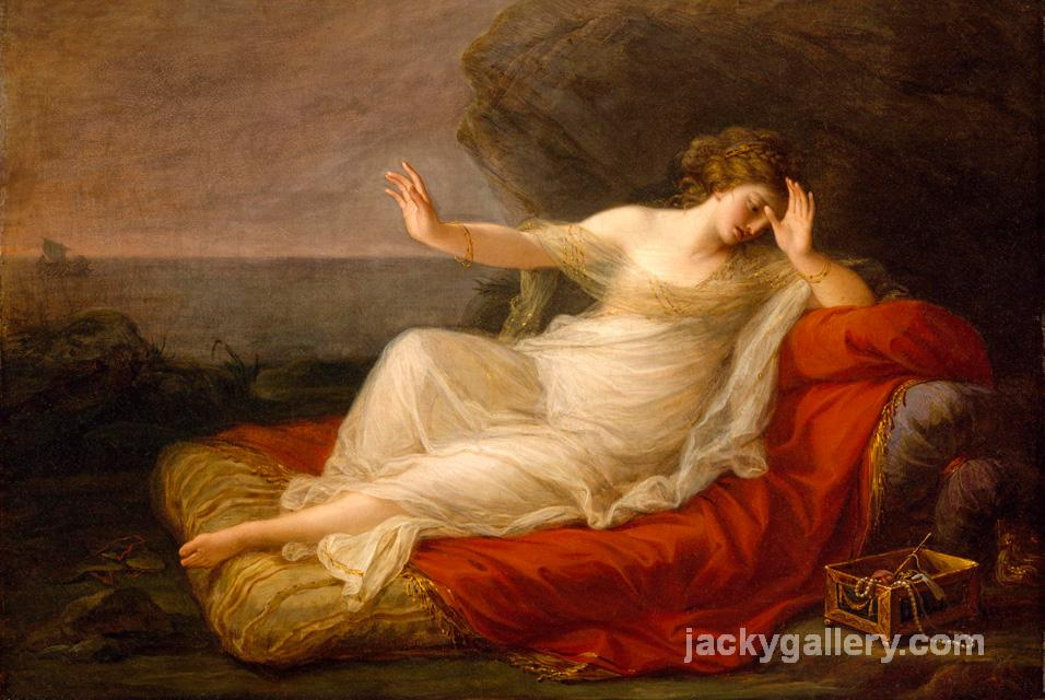Ariadne Abandoned by Theseus, Angelica Kauffman painting