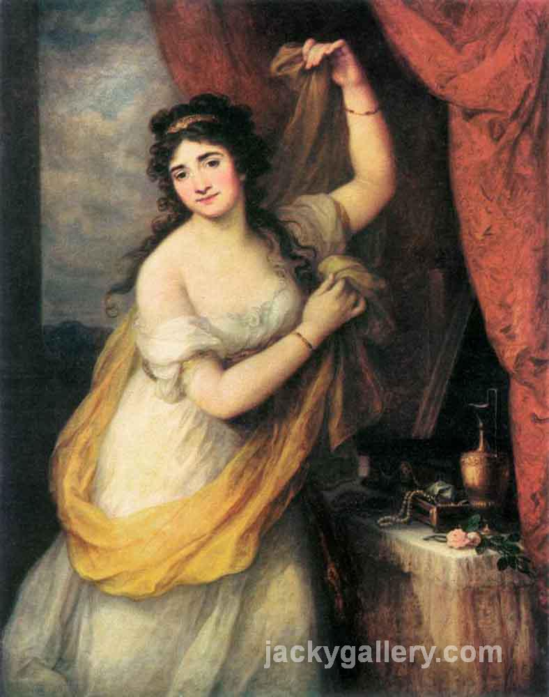 Portrait Of A Woman, Angelica Kauffman painting