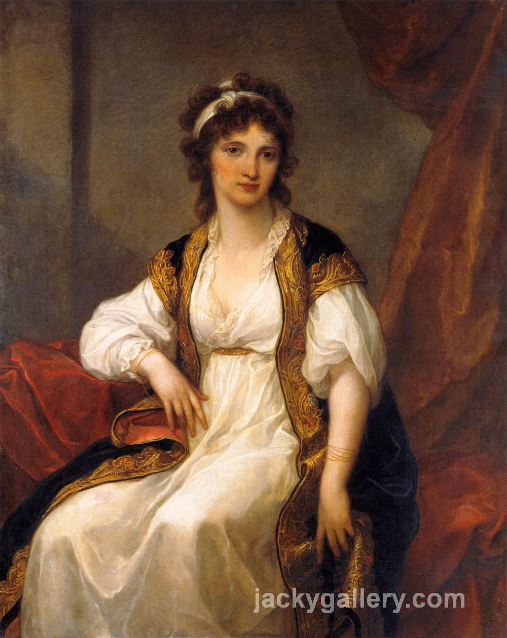 Portrait of a Young Woman, Angelica Kauffman painting