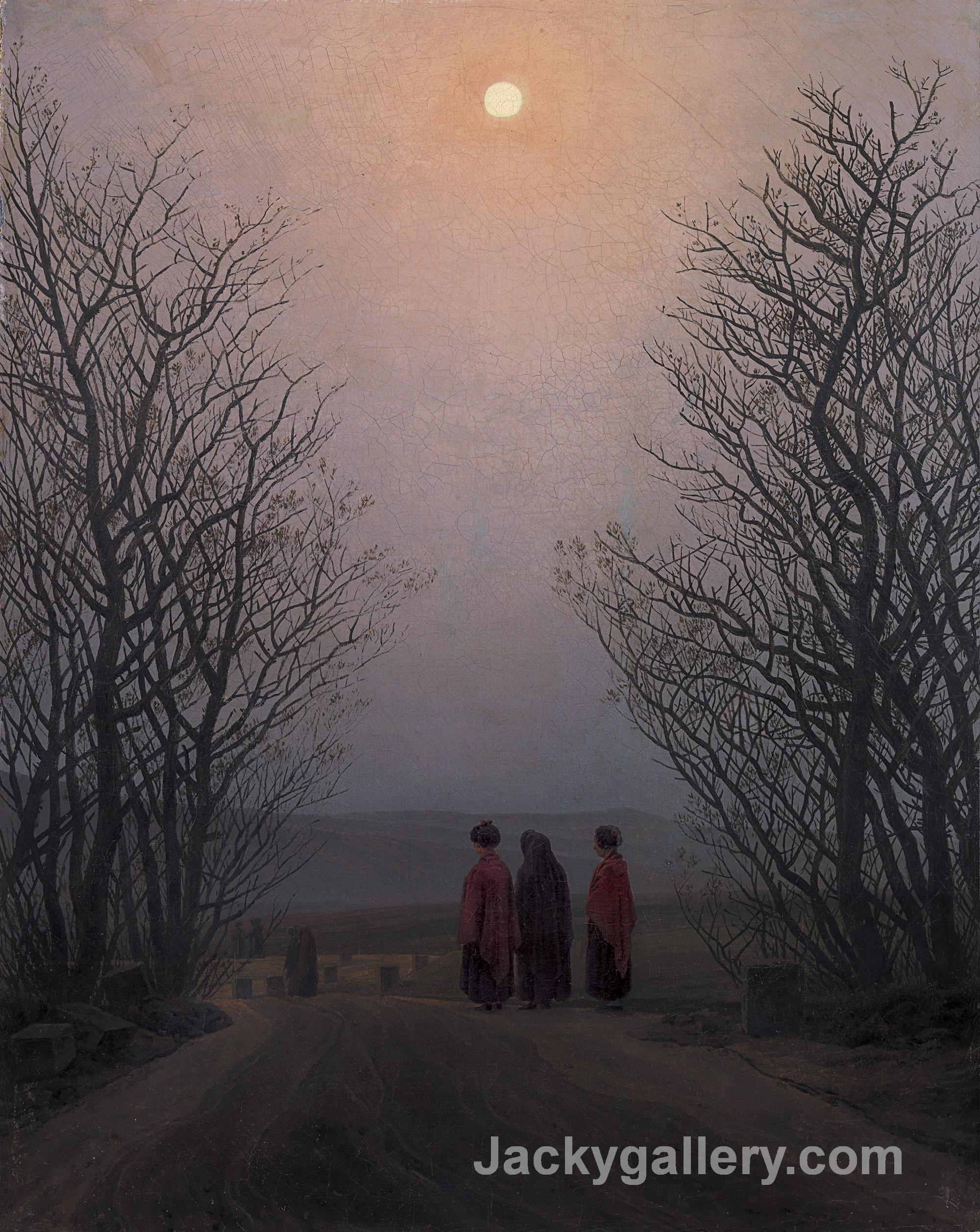 Easter Morning by Caspar David Friedrich paintings reproduction