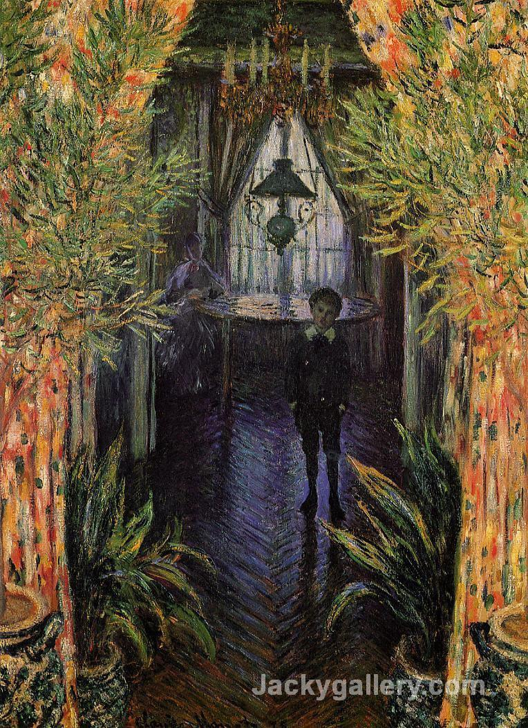 A Corner of the Apartment by Claude Monet paintings reproduction