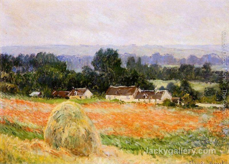 A Haystack by Claude Monet paintings reproduction