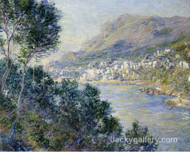 A View of Cape Martin, Monte Carlo by Claude Monet paintings reproduction