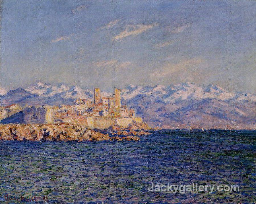 Antibes afternoon effect by Claude Monet paintings reproduction