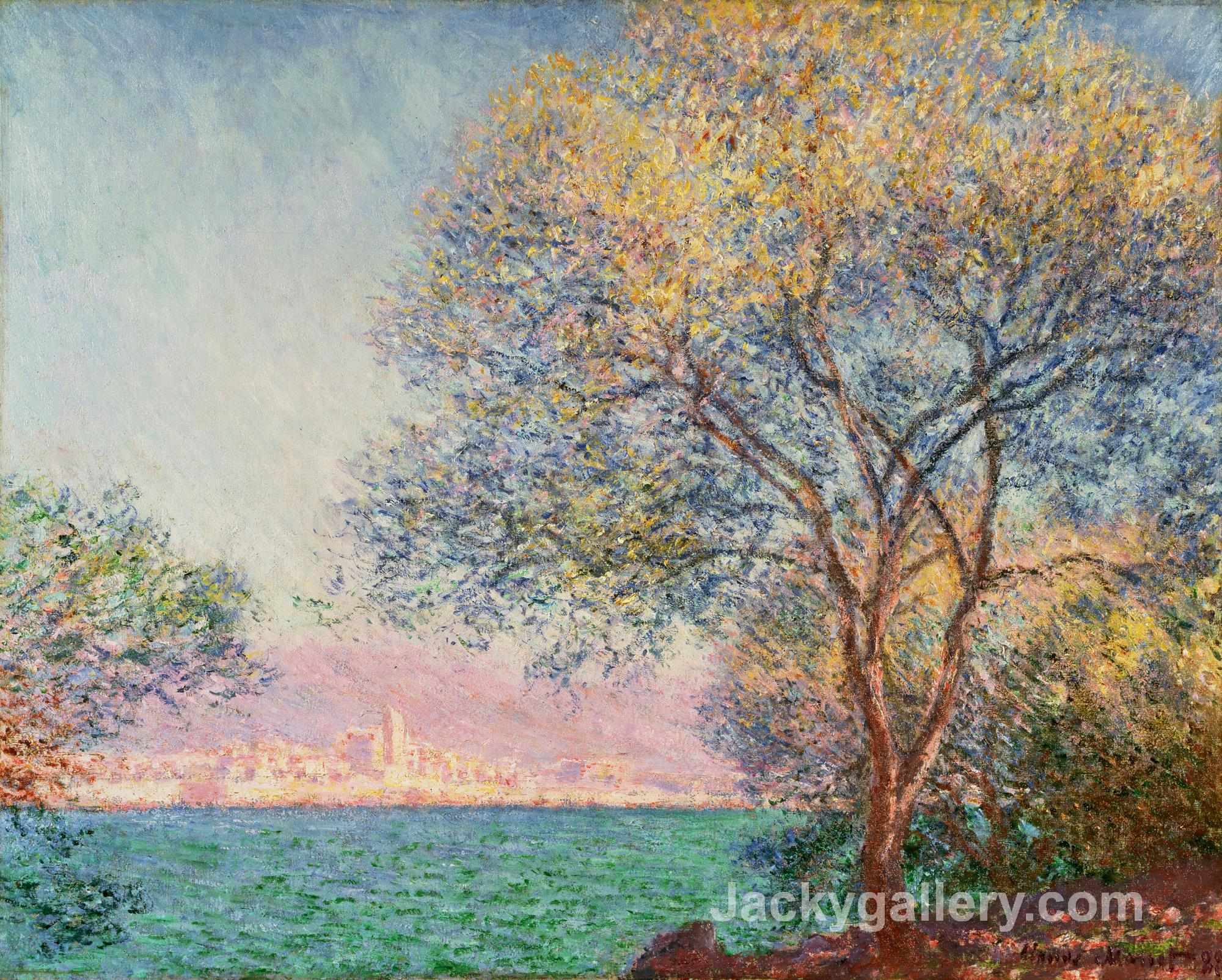 Antibes in the Morning by Claude Monet paintings reproduction