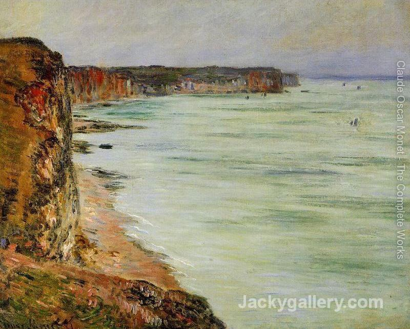 Calm Weather Fecamp by Claude Monet paintings reproduction