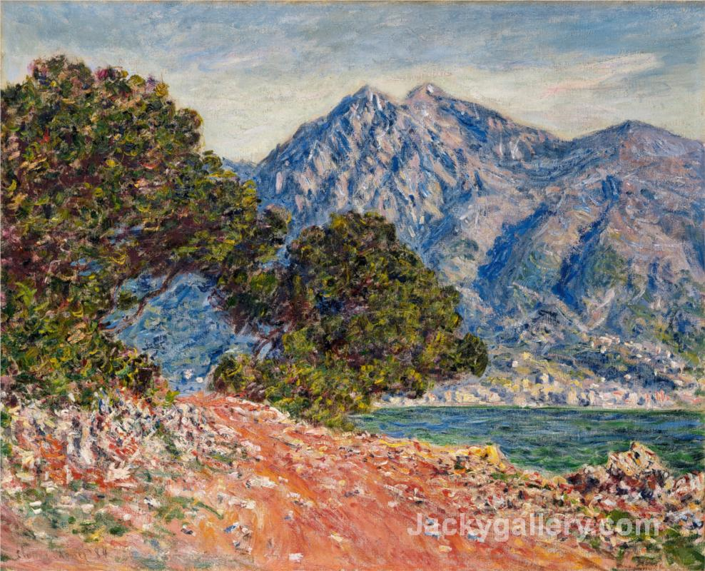 Cap Martin by Claude Monet paintings reproduction