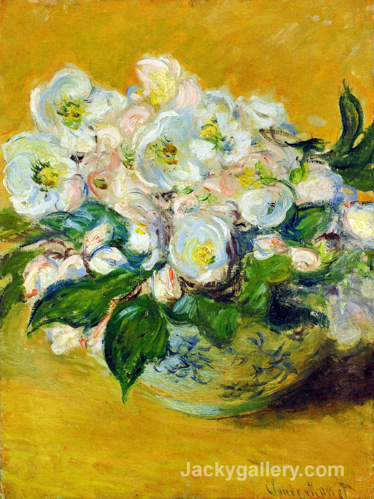 Christmas Roses by Claude Monet paintings reproduction