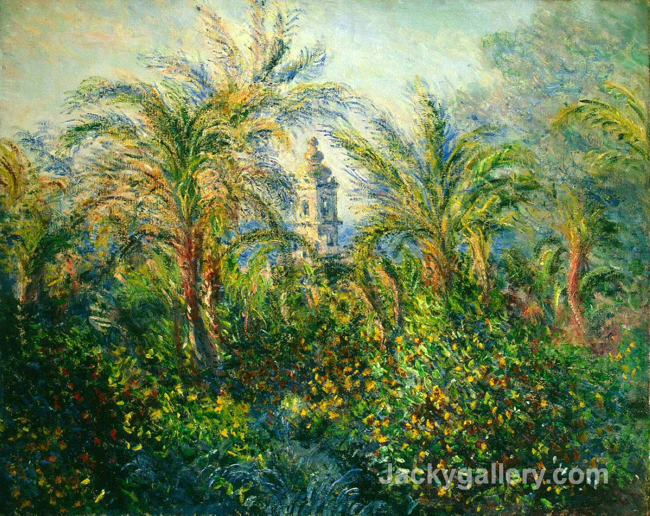 Garden in Bordighera, Impression of Morning by Claude Monet paintings reproduction