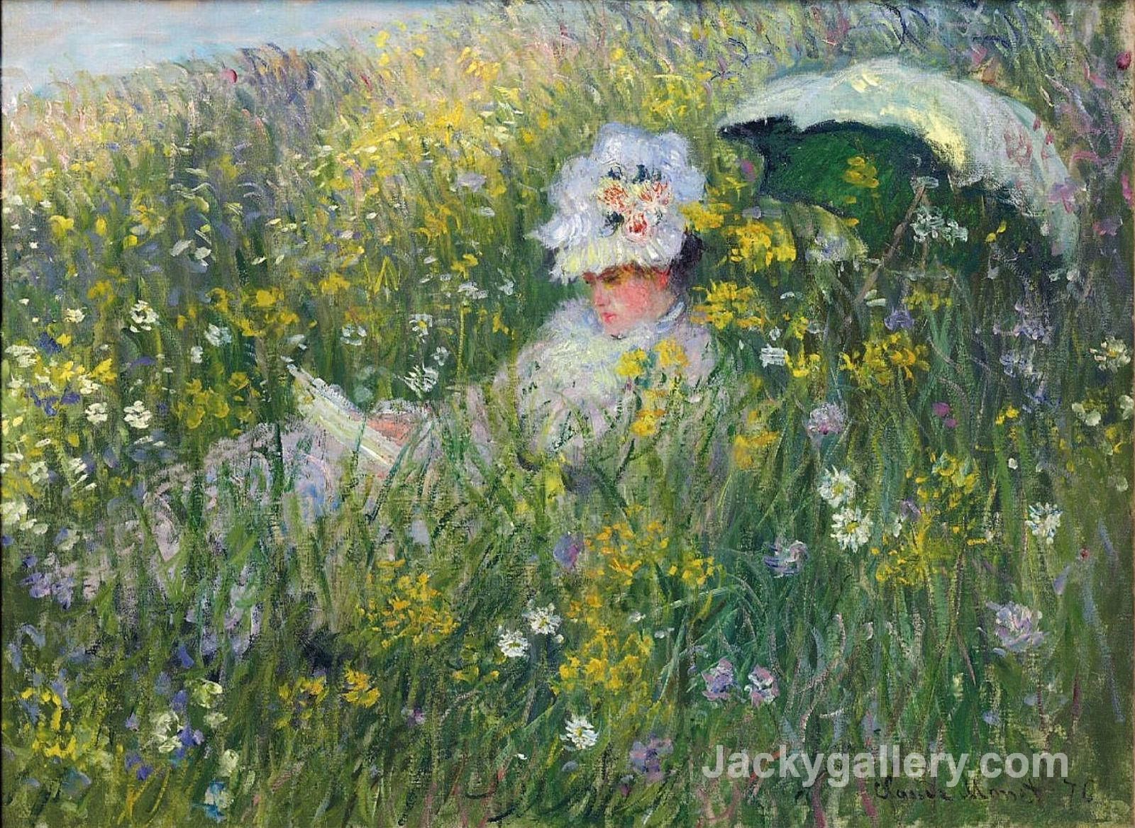 In the Meadow by Claude Monet paintings reproduction