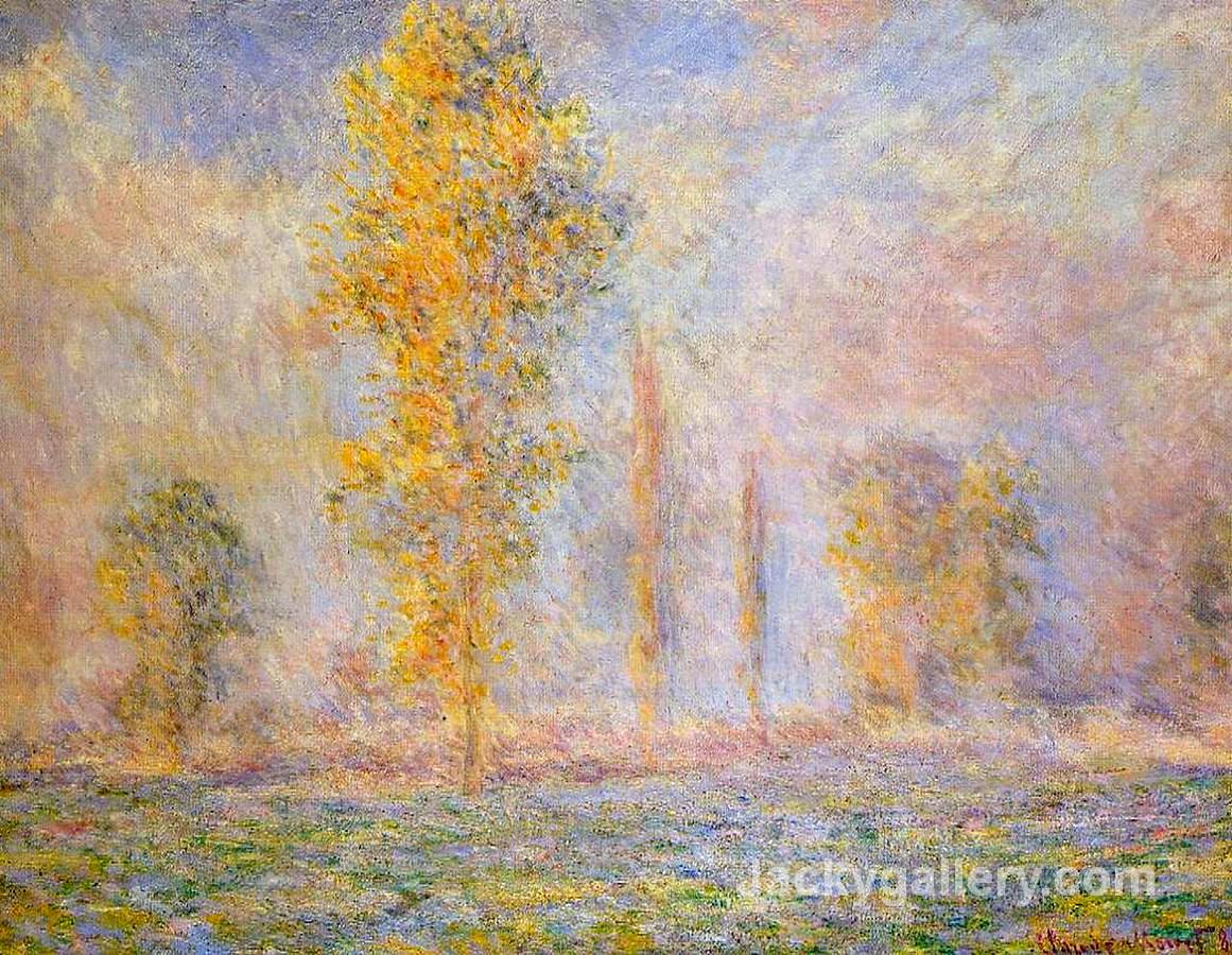 Meadow at Giverny by Claude Monet paintings reproduction