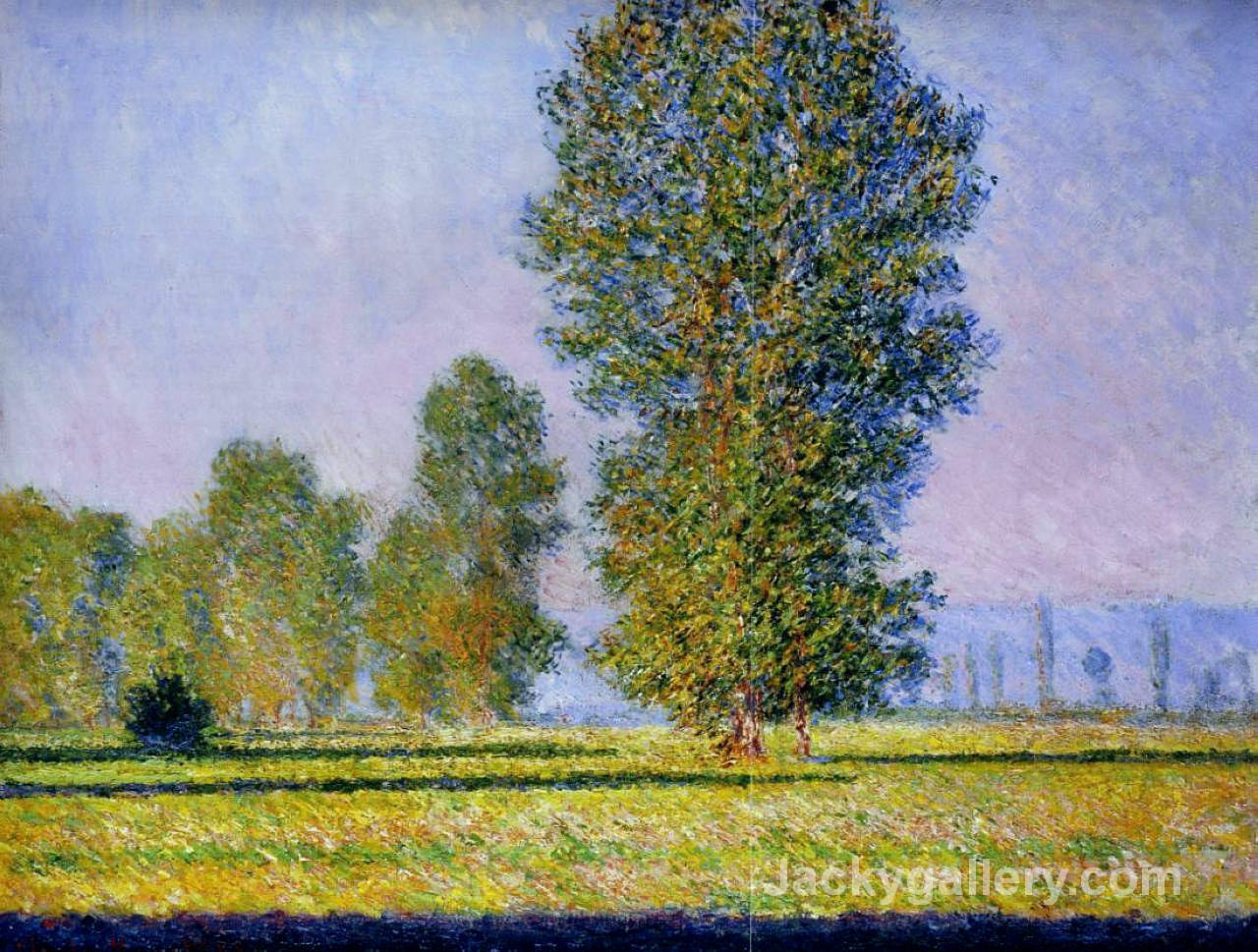 Meadow at Limetz by Claude Monet paintings reproduction
