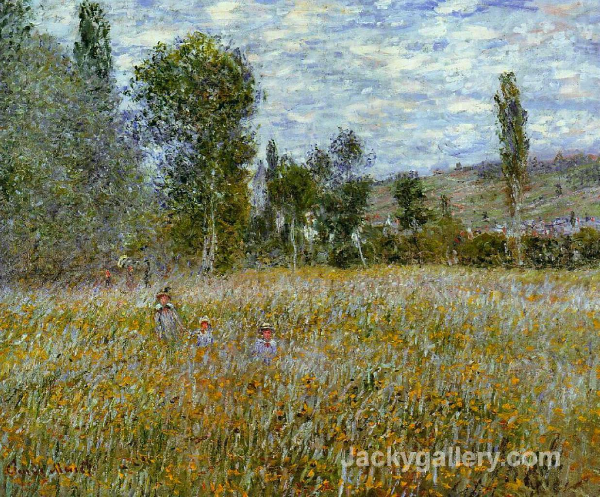Meadow by Claude Monet paintings reproduction