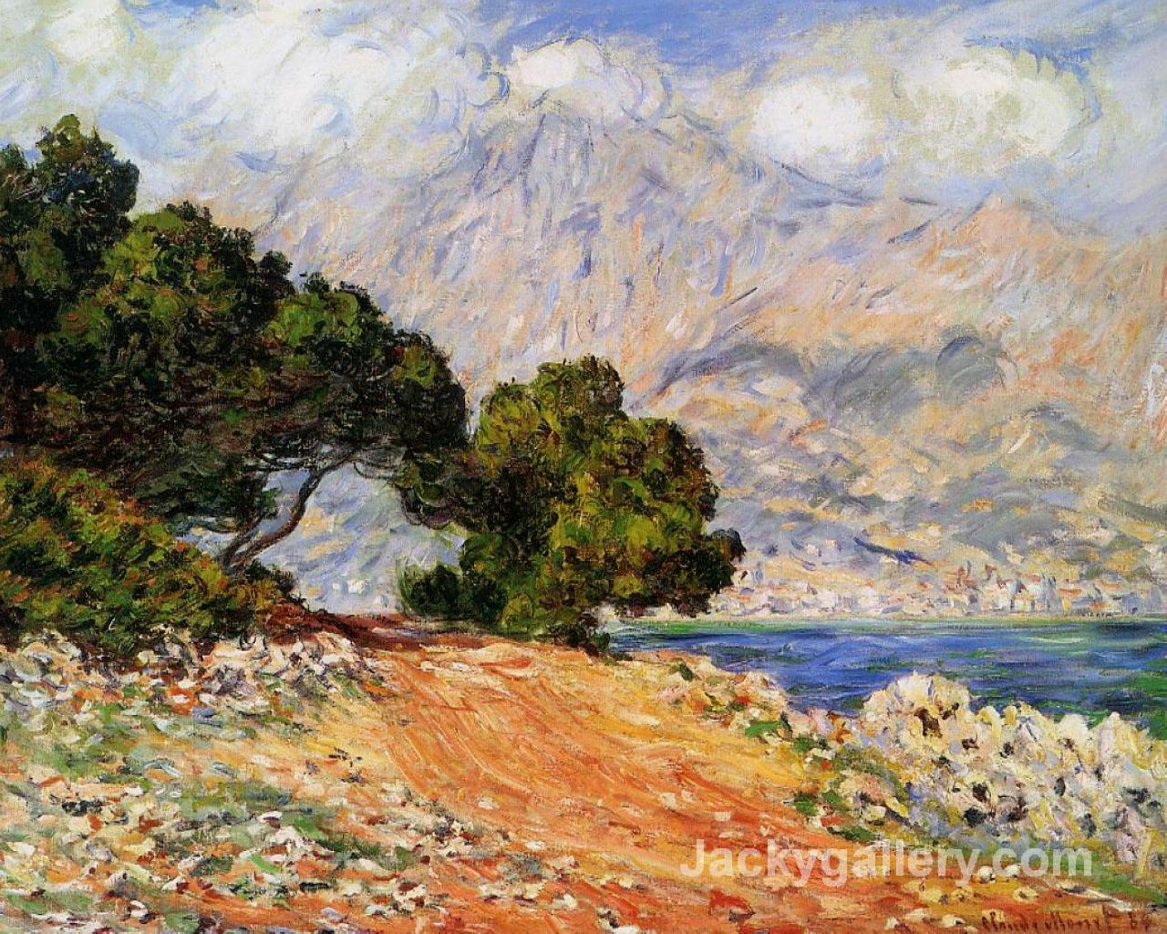 Meton Seen from Cap Martin by Claude Monet paintings reproduction