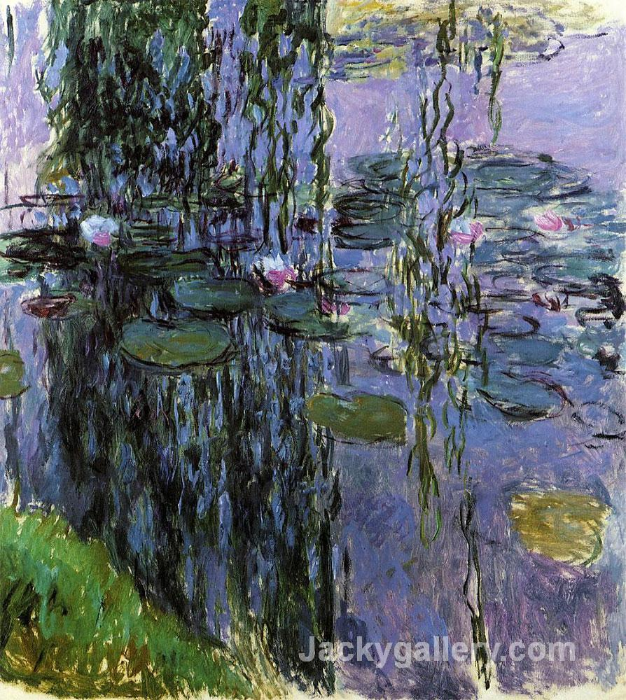 Nympheas (Water Lilies) by Claude Monet paintings reproduction