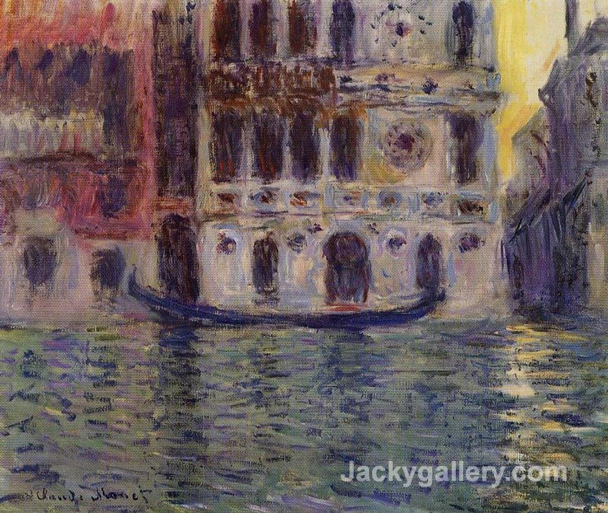 Palazzo Dario 3 by Claude Monet paintings reproduction