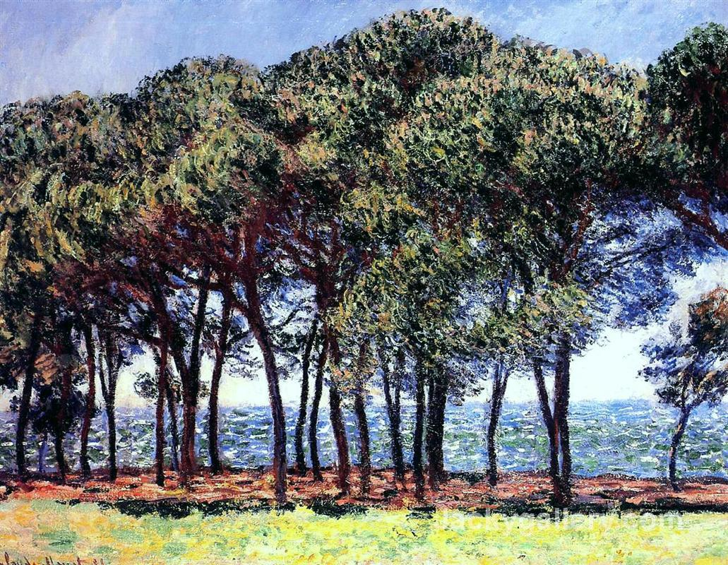 Pine Trees, Cap d Antibes by Claude Monet paintings reproduction