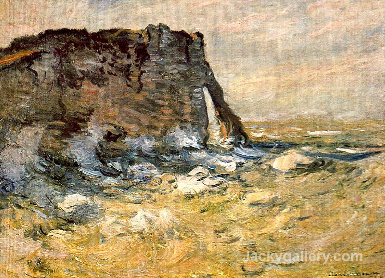 Port d Aval by Claude Monet paintings reproduction