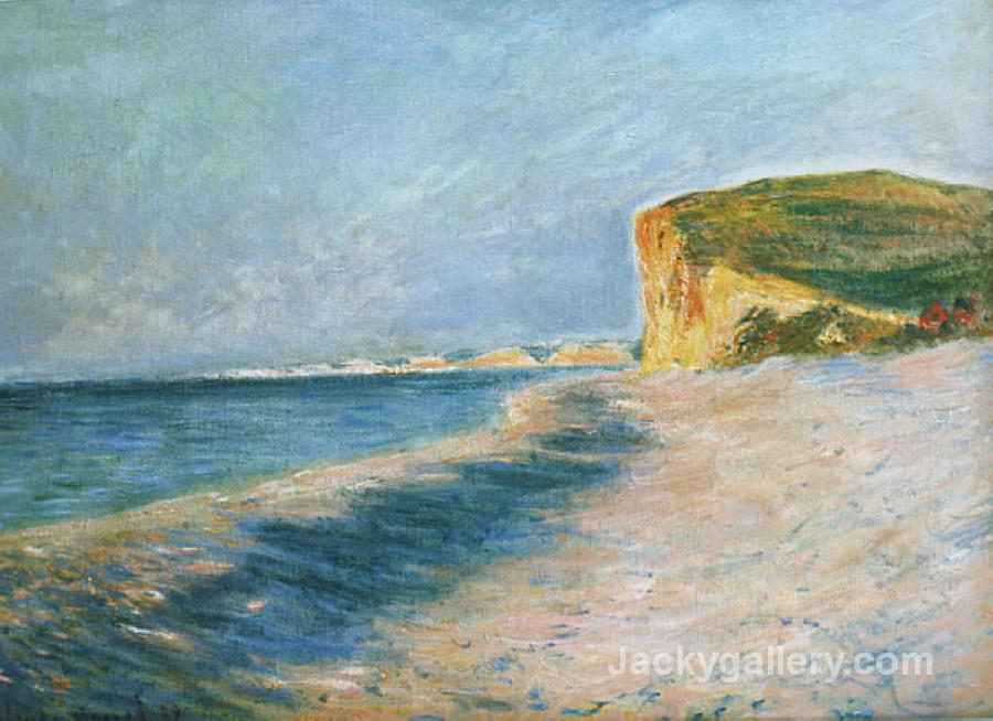 Pourville, near Dieppe by Claude Monet paintings reproduction