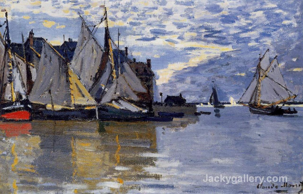 Sailboats by Claude Monet paintings reproduction