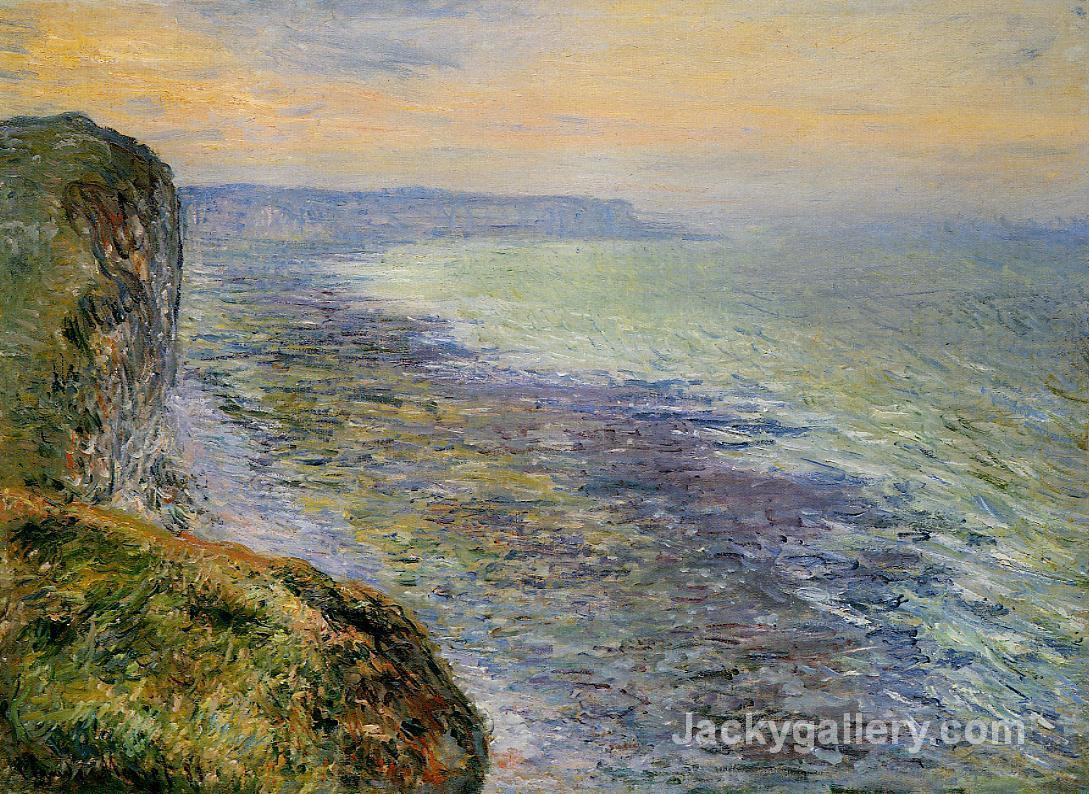 Seascape near Fecamp by Claude Monet paintings reproduction