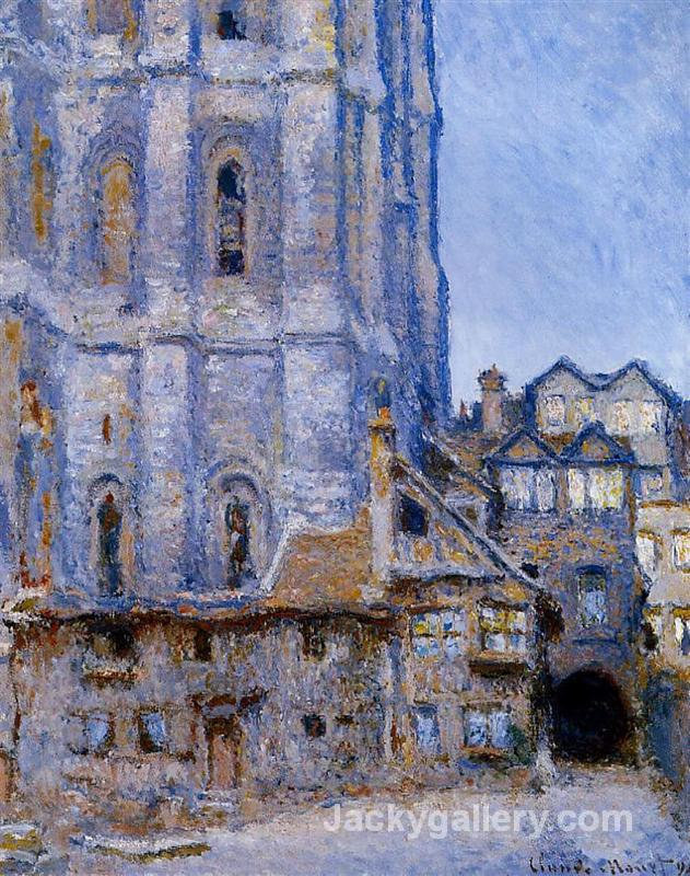 The Cour d Albane by Claude Monet paintings reproduction