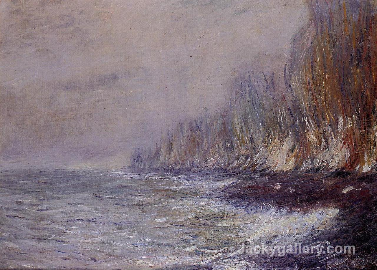 The Effect of Fog near Dieppe by Claude Monet paintings reproduction