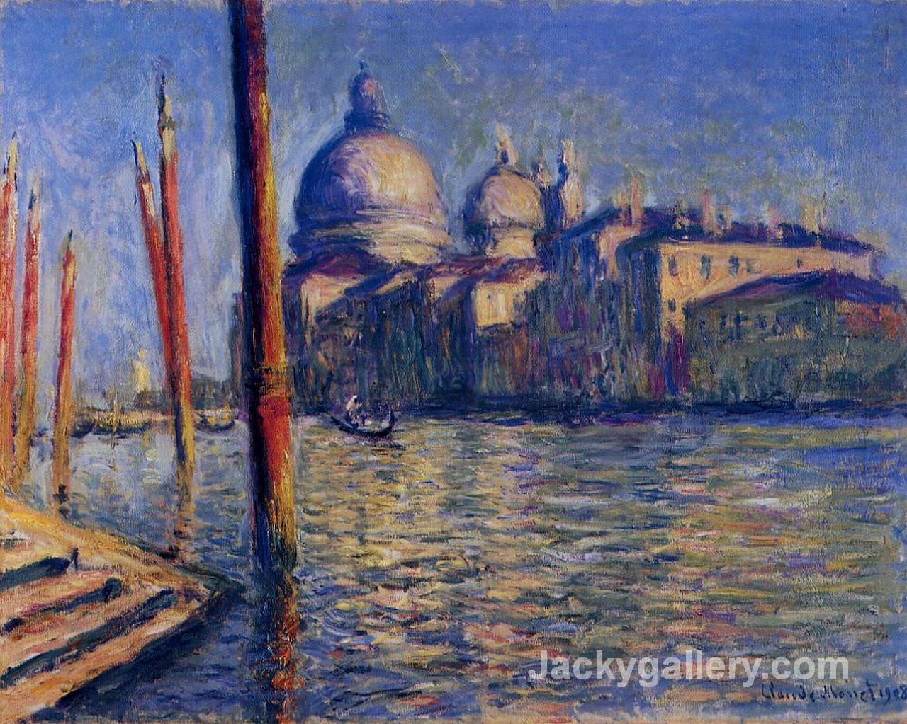 The Grand Canal And Santa Maria Della Salute by Claude Monet paintings reproduction