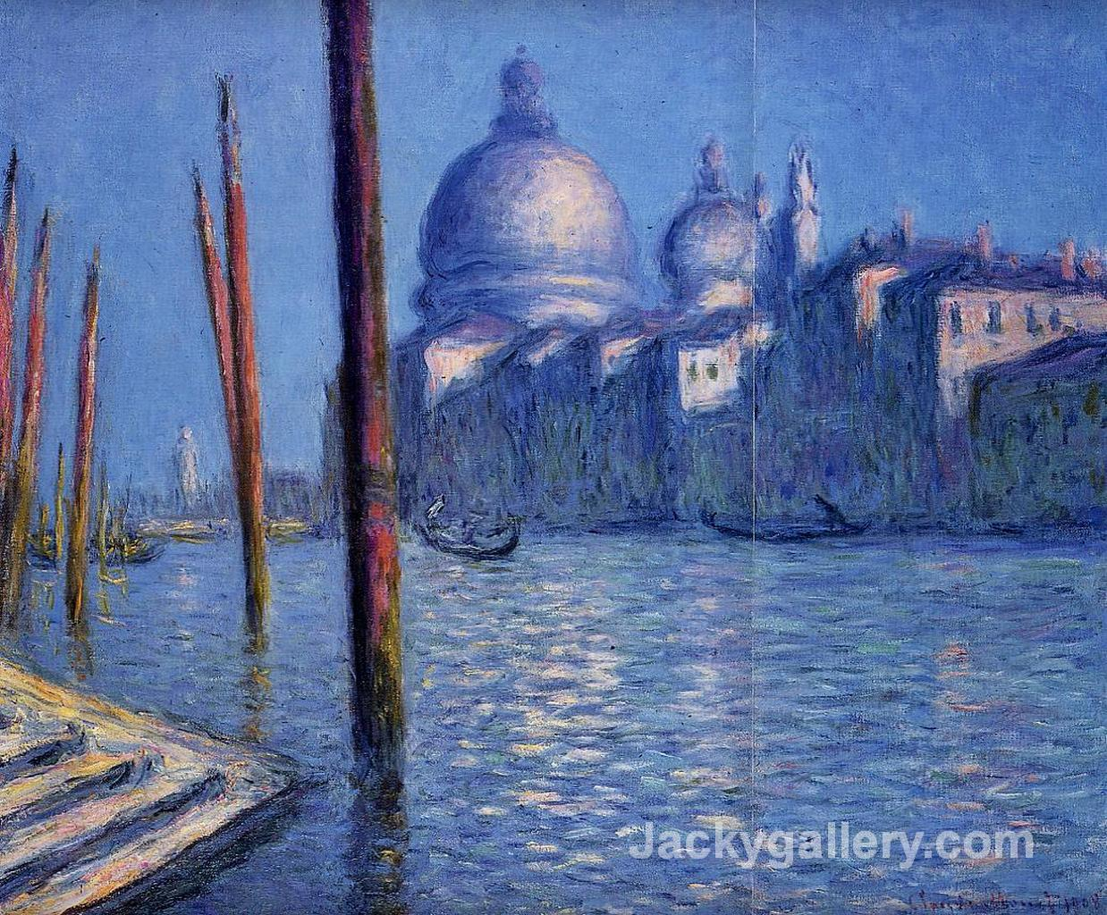 The Grand Canal by Claude Monet paintings reproduction