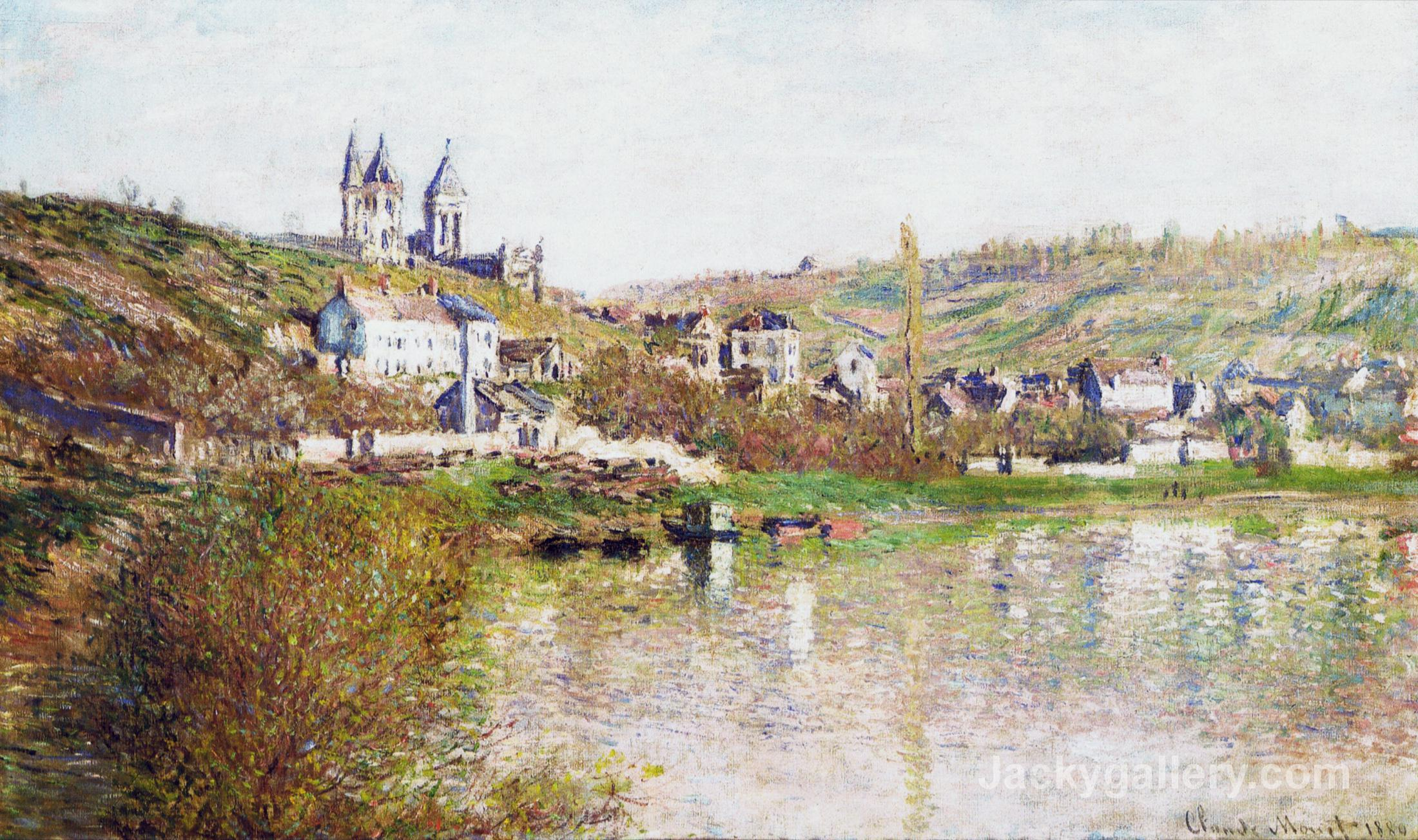 The Hills of Vetheuil by Claude Monet paintings reproduction