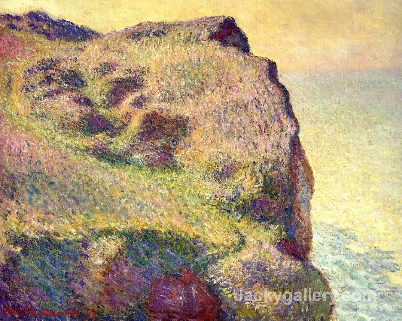 The Pointe du Petit Ailly by Claude Monet paintings reproduction