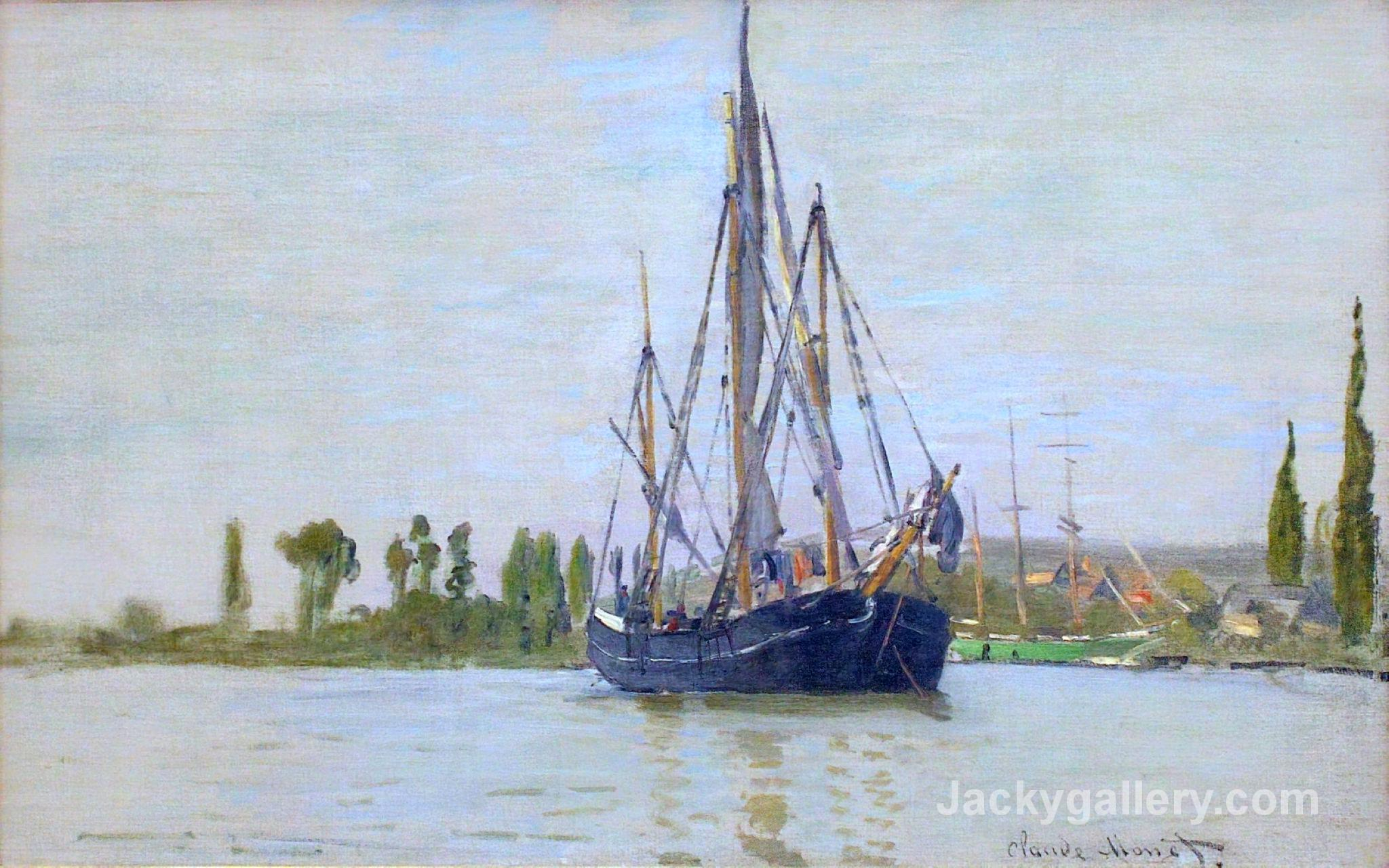 The Sailing Boat by Claude Monet paintings reproduction
