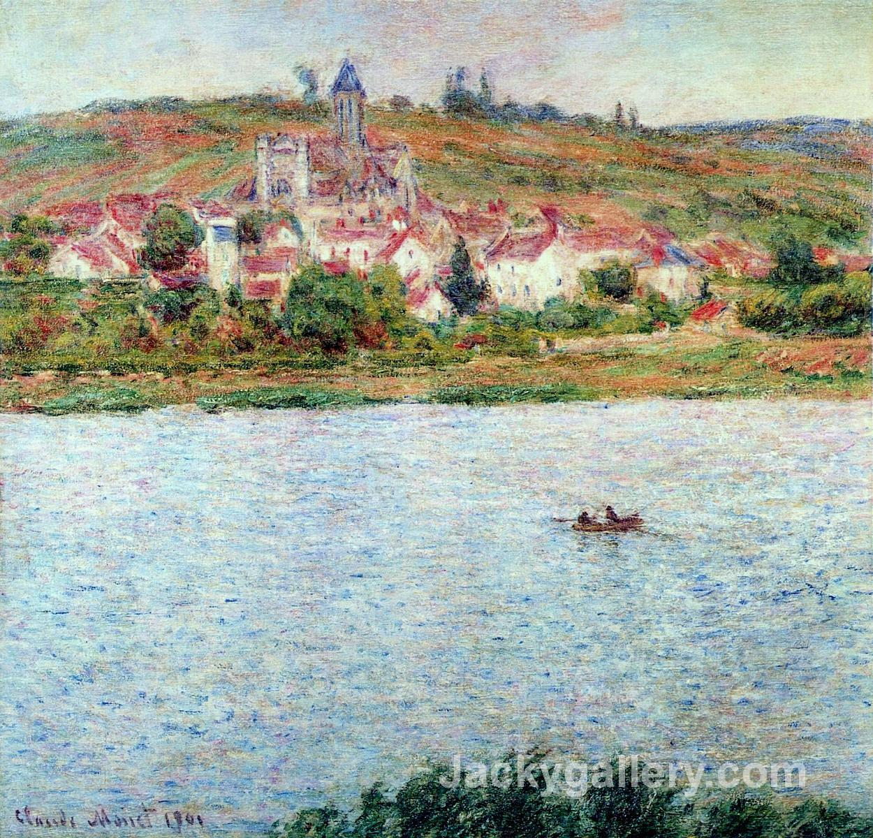 Vetheuil, Morning Effect by Claude Monet paintings reproduction