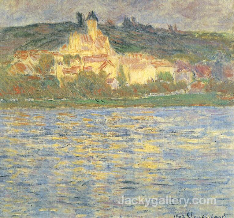 Vetheuil by Claude Monet paintings reproduction
