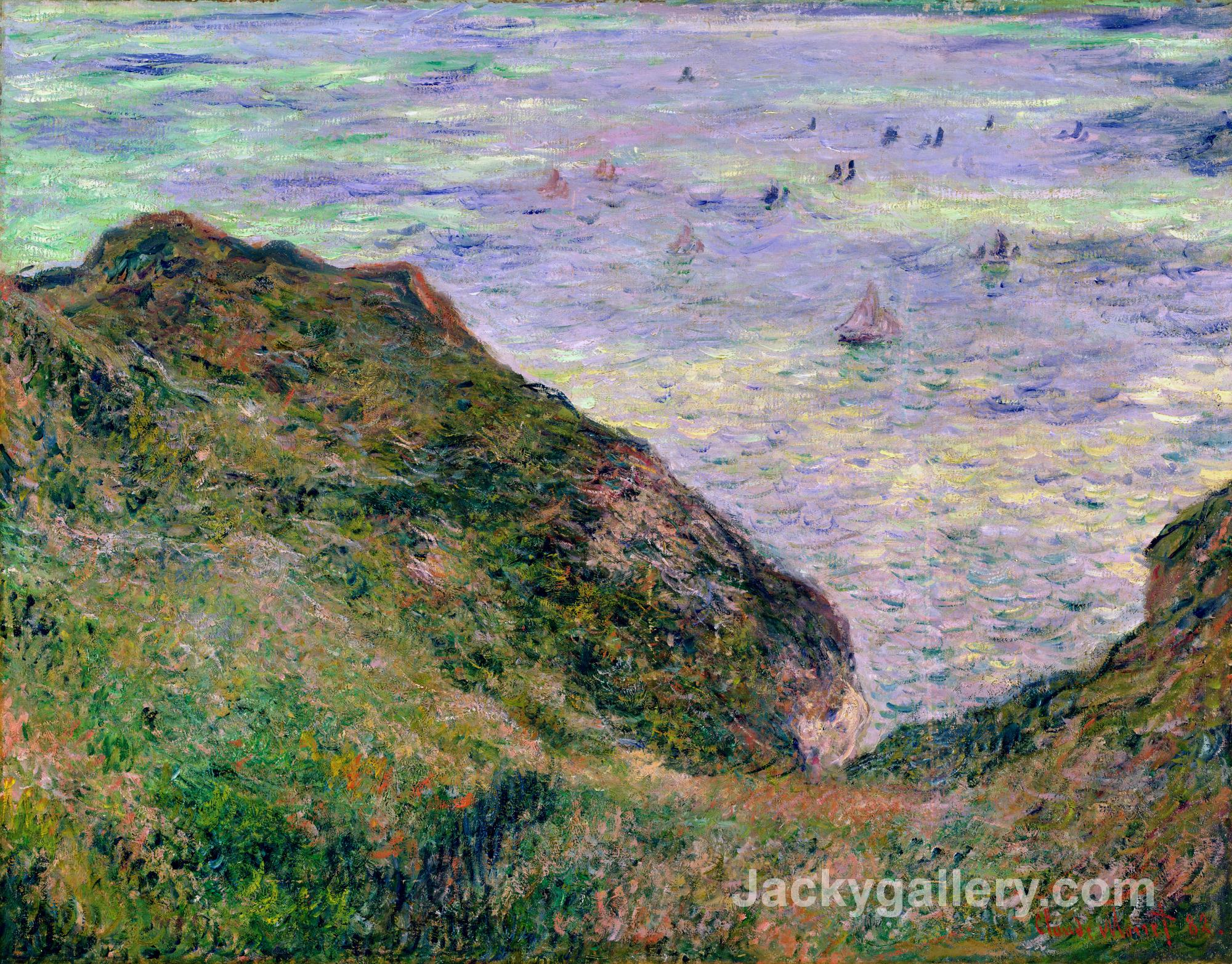 View Over the Sea by Claude Monet paintings reproduction